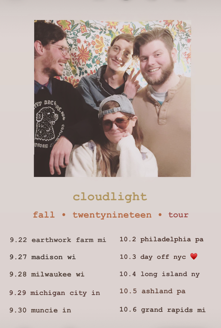 cl - first tour announcement cloudlight